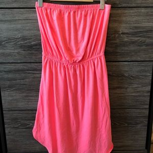 3 for 25 💕 Old navy bright pink strapless dress